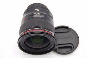 Canon EF 24mm f 1.4L II USM Zoom Lens for Canon DSLR Cameras ... fe859b6380a