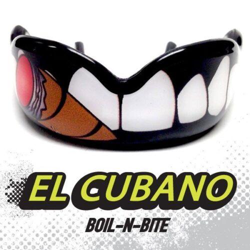 Schadensbegrenzung el Cubano Hallo auswirken Mundschutz Zahnschutz MMA UFC