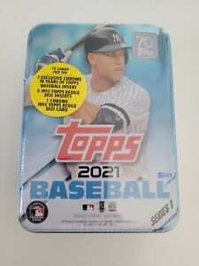 2021 Topps Series 1 MLB Baseball Tin, New