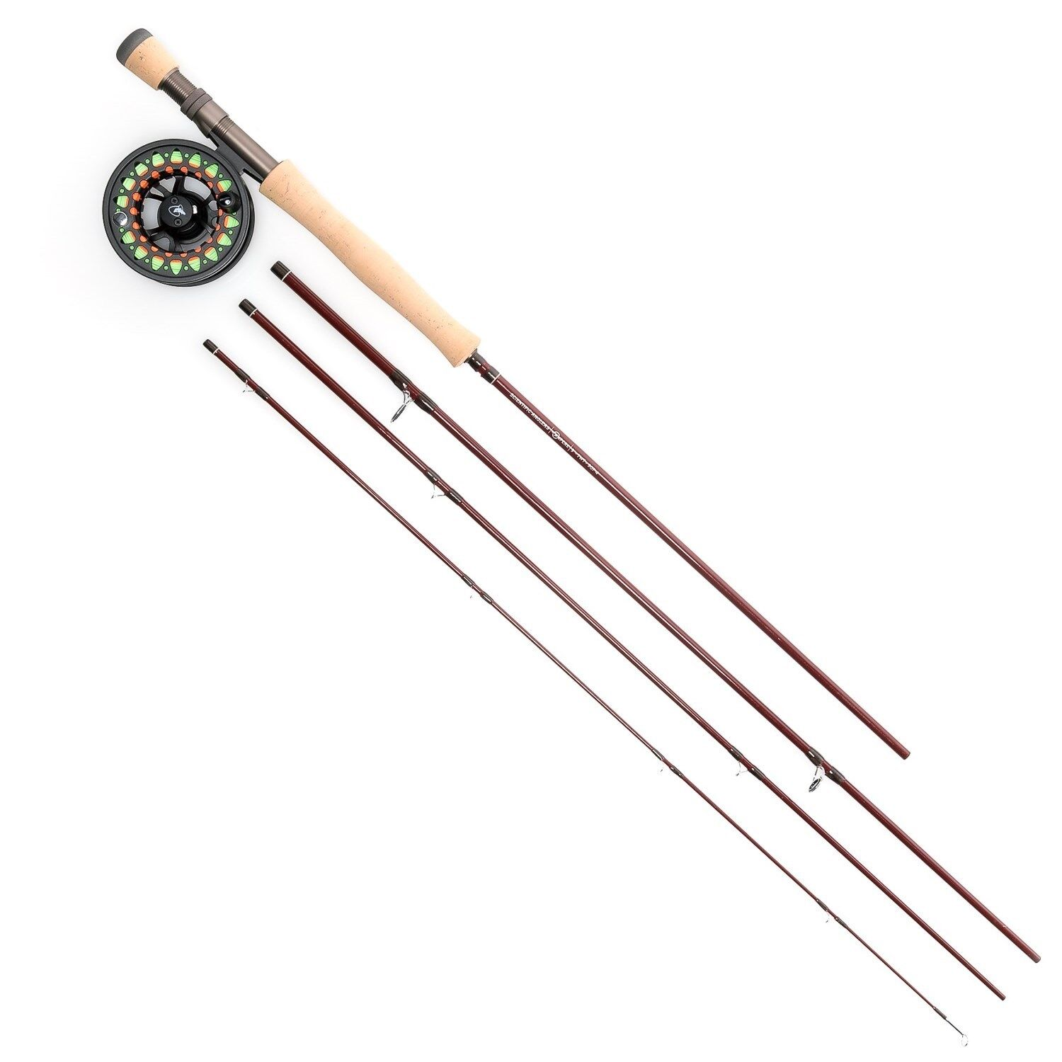Scientific Anglers Ampere IV Fly Rod & Reel Combo w  Tube 4 Piece 9' Choose Size