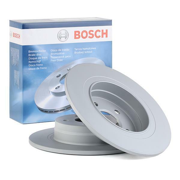 Bosch Rear Brake Disc Rotors 300mm BD1304 fits Mercedes C-CLASS C204 C 180