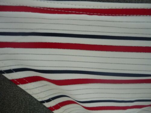 ladies bikini bottoms white striped  tie sides size 8-12 /& 14 only left /'Maine/'