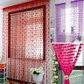New Heart Line Tassel String Door Curtain Window Room Divider Curtain Valance tb