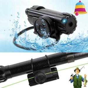 1-4PCS Electronic LED Light Fish Bite Sound Alarm Bell Rod Clip Fishing On C8N1