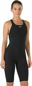 Speedo-Female-Swimsuit-Powerplus-Kneeskin-Size-30-Black