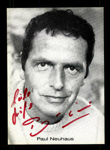 Autogramme & Autographen Energisch Paul Neuhaus Autogrammkarte Original Signiert # Bc 89323 Neueste Technik