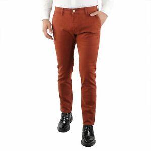 Pantaloni-Uomo-Invernali-Chino-Slim-Fit-Pantalone-Tasca-America-Elegante-Aragost