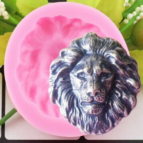 Lion Head Silicone Mold Chocolate Fondant Mold Baking Tools Soap Polymer Clay