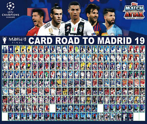 TOPPS-ROAD-TO-MADRID-039-19-UEFA-CHAMPIONS-LEAGUE-dal-001-a-212-LIMITED-EDITION