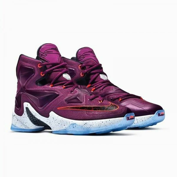 Nike Lebron XIII 13 Written In The Stars homme 10.5 807219-500 Mulberry chaussures LAL