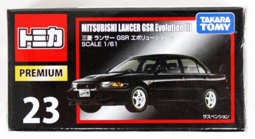 Takara Tomy Tomica Premium 23 Mitsubishi Lancer GSR Evolution III 887171