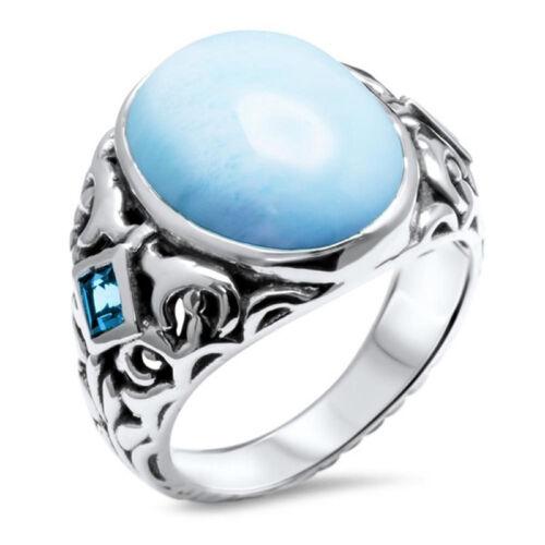 Women Lady 925 Silver Zircon Topaz Crystal Ring Wedding Bridal Rings Jewelry Hot