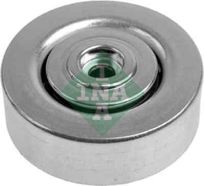 Aux Belt Idler Pulley fits BMW X5 E53 3.0D 03 to 06 Guide Deflection INA New
