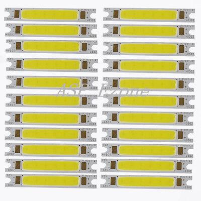 3W White COB LED Stripe High Power LED Light Lamp Bulb Emitting Diode Chip