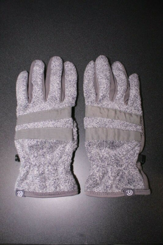 Capable Champion Gray Polyester Smart Touch Finger & Thumb Womens Gloves Sz L/xl #743 Promoting Health And Curing Diseases