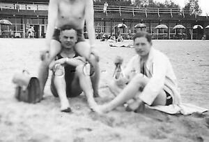 Detalles De Alemana Segunda Guerra Mundial Rp Semi Desnuda Interés Gay Playa Comic Ver Título Original
