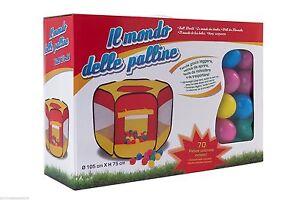 Tende Per Bambini Con Palline : Tenda gioco bambini giochi bimbi con palline casetta pop up ebay