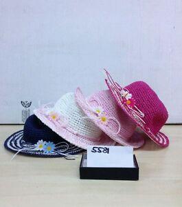 prezzo ridotto codici promozionali foto ufficiali cappello rosa bambinA elegante cerimonia mare hat baby cildren | eBay