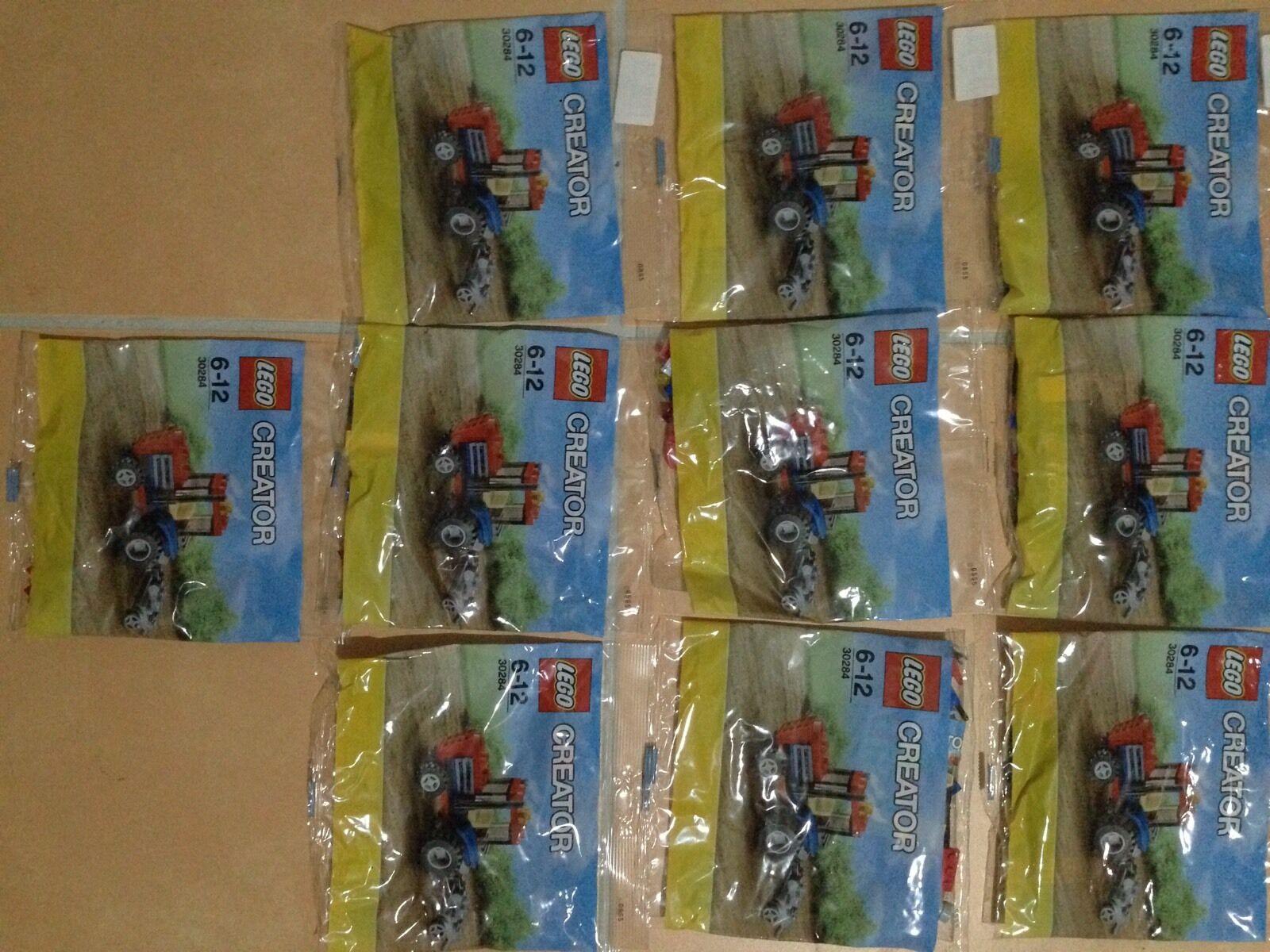 10 X LEGO Creator 30284, Traktor Neu OVP Super Als Weihnachtsgeschenk