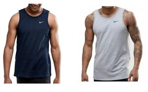 Details zu Nike Herren Tanktop Shirt Navy Blau Grau Grey 100 % Baumwolle Sport S M L XL </p>                     </div>                     <!--bof Product URL -->                                         <!--eof Product URL -->                     <!--bof Quantity Discounts table -->                                         <!--eof Quantity Discounts table -->                 </div>                             </div>         </div>     </div>              </form>  <div style=