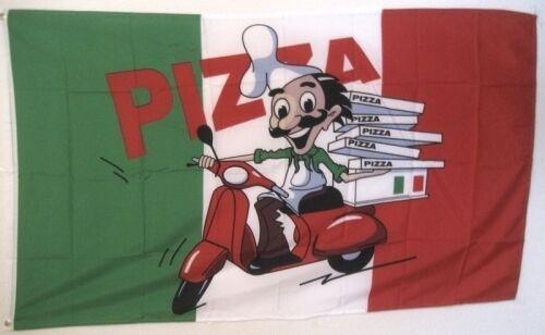 Drapeau DRAPEAUX pizza avec roller conducteur 150x90cm tdshop 24