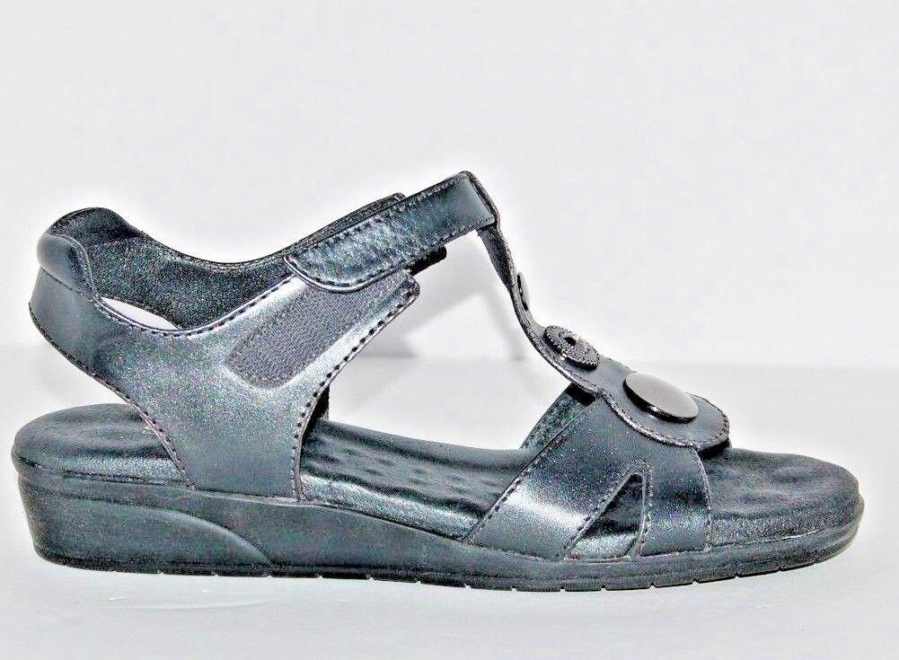 Elites by Walking Cradles Donna  Venice Leather Pewter 91 91 91 2 N 20741c