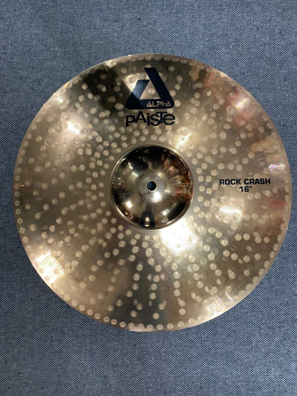 Paiste 16  Alpha Rock Crash Cymbal New