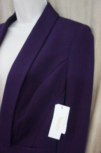 Business Blackberry Purple Segal Sz Jacket Blazer di Shelli 6 799016716370 Lavanderia Casual 7x4a8qa