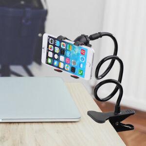 phone support universel paresseux clip mobile t l phone portable gps lit ebay. Black Bedroom Furniture Sets. Home Design Ideas