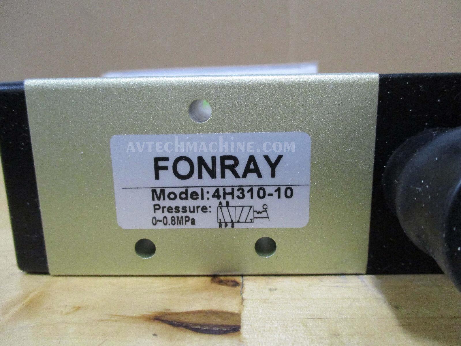 "4H310-10 Fonray Hand-Pull Valve 3//8/"""