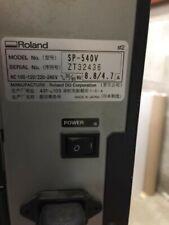 Roland Versacamm Sp 540v Printer Cutter 54 Printercutter