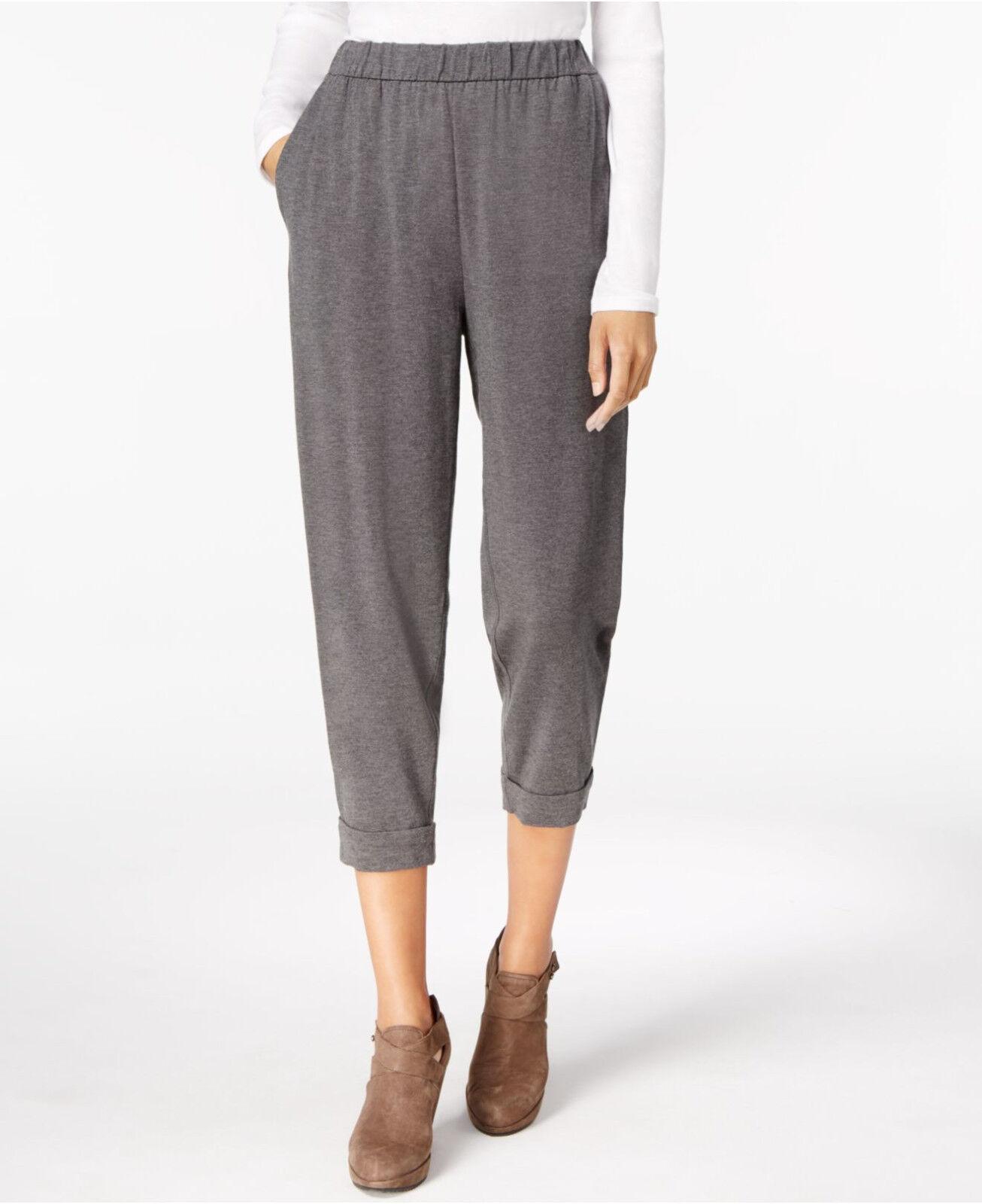 198 Women's Eileen Ash  Fisher Slouchy Stretch Tencel Pants XL