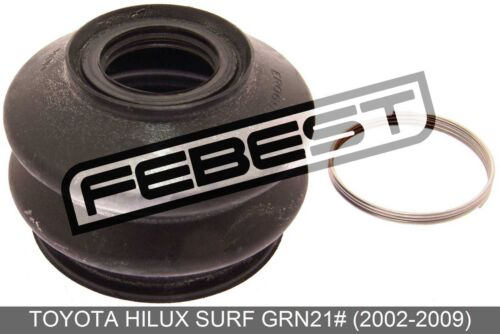 2002-2009 Front Upper Arm Ball Joint Boot For Toyota Hilux Surf Grn21#