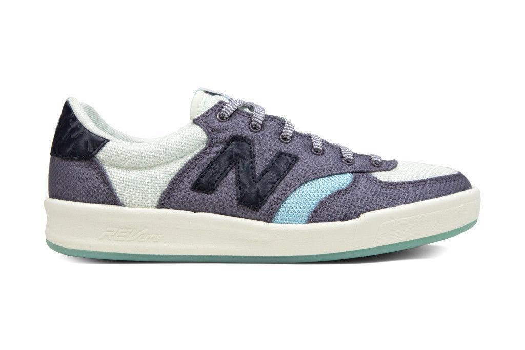 Chaussures Femme New Balance Summer utilitaire Blanc Baskets Décontractées WRT300UB