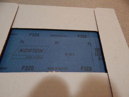 Norton 9 X 11 Sand paper NO-FIL DURITE 66254487400 GRIT 320