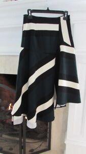 Anthropologie-039-s-Eva-Franco-Asymmetrical-Hem-Geometric-Skirt-Sz-4-Retail-138