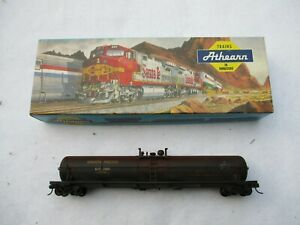 Athearn-HO-1526-62-Ft-Tank-Car-Union-Pacific-Custom-Weathered-Free-Shipping