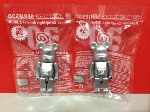 Be@rbrick 2015 project 1//6 Release Series 30 Campaign Novelty 100/% Bearbrick Set