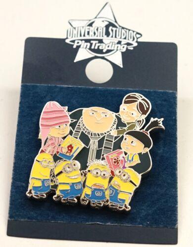 Universal Studios Despicable Me Gru Minions /& Girls Family Portrait Trading Pin