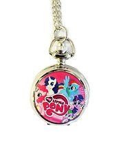 "My Little Pony TV Series Rainbow Dash Pendant Watch on 30"" Chain"
