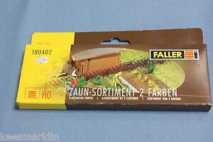 Faller-180402-Assortment-Fences-2-KIT-HO