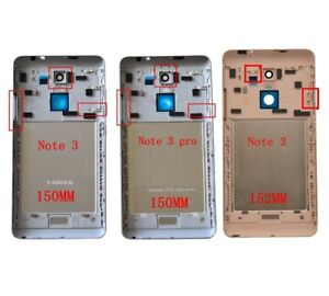 size 40 8c313 9980e Details about Back Rear Battery Cover for Xiaomi Redmi Note 3 / Pro Global  Special 150mm 152mm