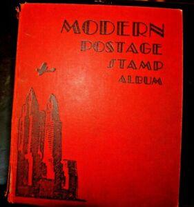 CatalinaStamps-Modern-Postage-Stamp-Album-Scott-1950-w-850-Stamps-Lot-D49