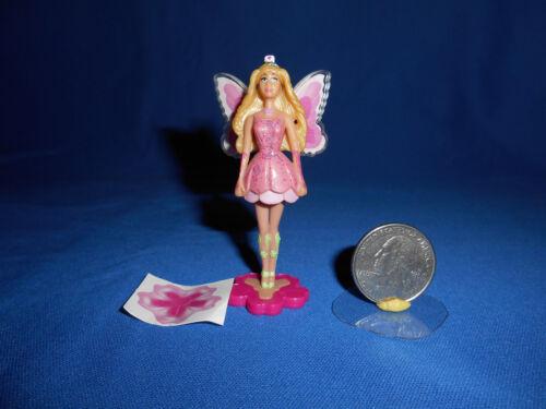 BARBIE FAIRY Small Wings FAIRYTOPIA Mini Plastic Figurine KINDER Figure MATTEL