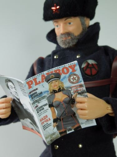 several interior pages 1//6 Scale Russian Playboy GI Joe Oktober Guard Daina