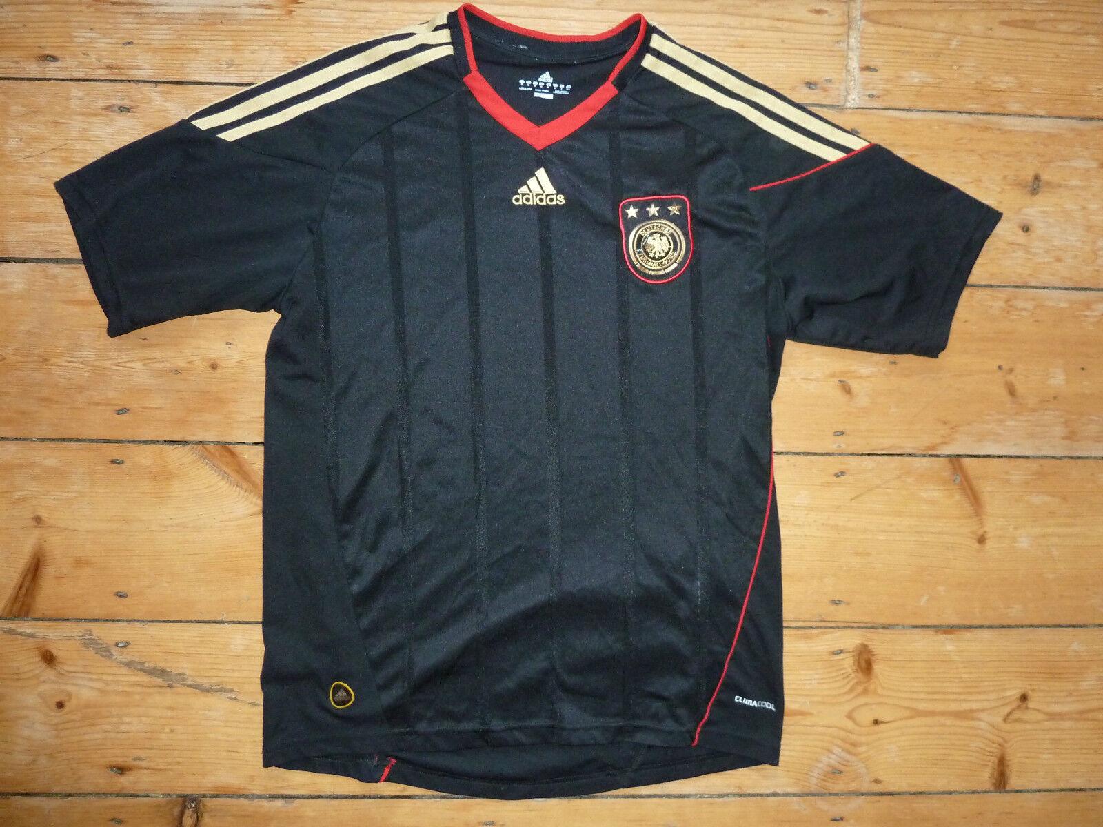 Alemania Camiseta de Fútbol Mediano 2010 Alemán Adidas Original Euro 16