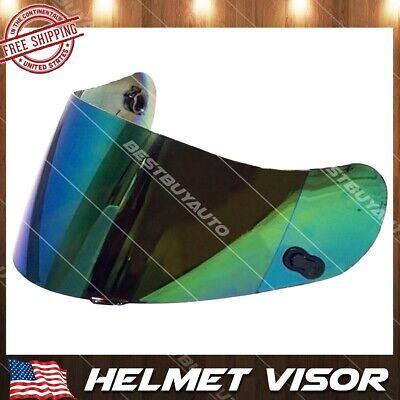 Transparente//Dorado//marr/ón//Color//ba/ñado en Plata iBellete Lente para Casco de Motocicleta para HJC CL-16 CL-17 CS-15 CS-R1 CS-R2 CS-15 FG-15 TR-1