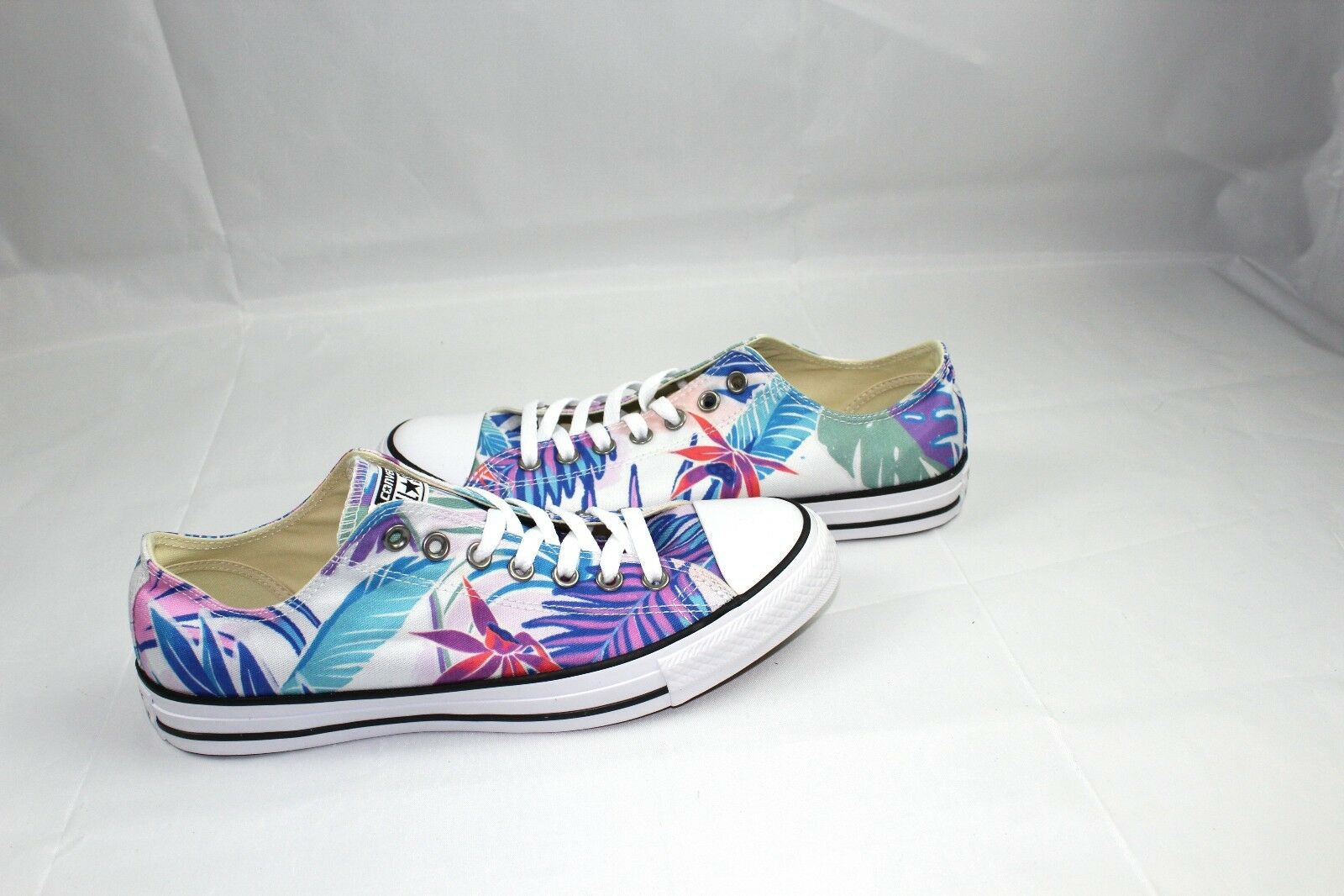 42ee161c30dd Converse All Star Ox Floral Tropical 155396F Low Top Shoes Men 10 ...
