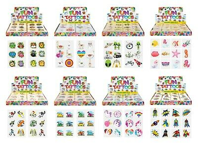 6 Sheets BOYS BLACK Stickers Girls Boys Party Bag Fillers Kids Craft Toys