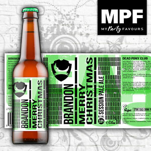 Novelty-Personalised-Beer-Lager-Bottle-Label-Dead-Pony-IPA-Christmas-Gift